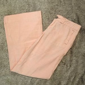 Anthropologie Pilcro Wide Leg Cotton Pant